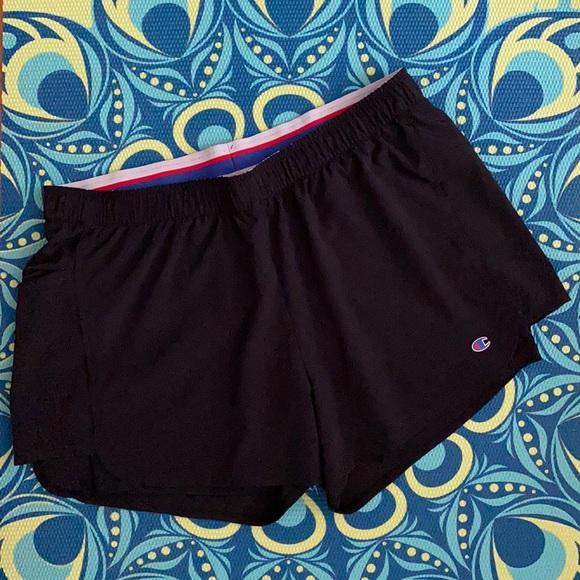 Champion Black Athletic Shorts